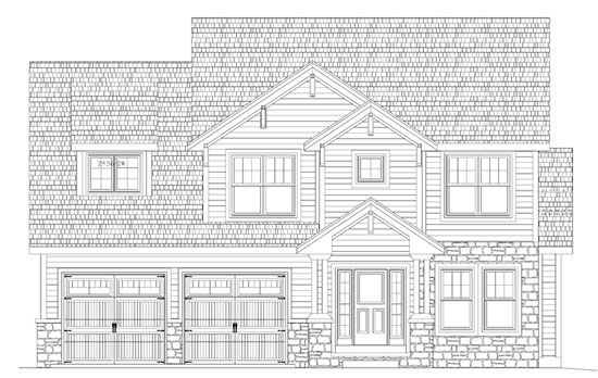 Custom Home Plan Birmingham Michigan ...