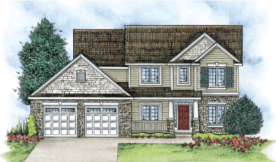 New Construction Homes For Sale Colonial