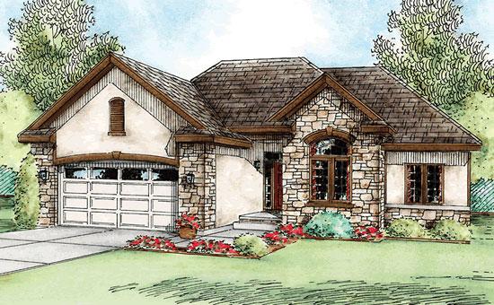 Live well custom homes for Custom ranch home designs