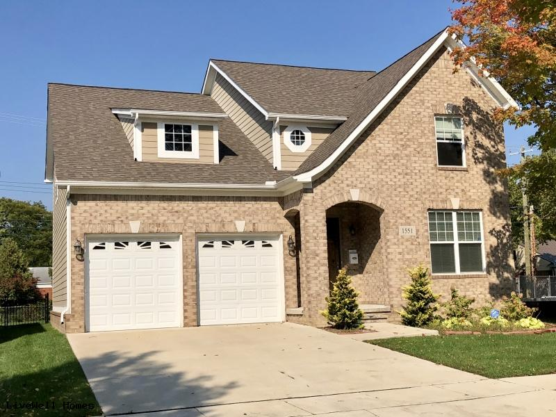 New Homes Birmingham with an Attached Garage 1461 Webster