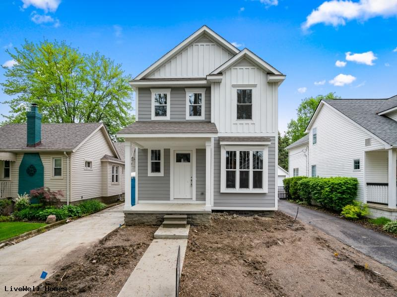 New Homes For Sale In Oak Park  3 Bedroom Colonial  24451 Sherman